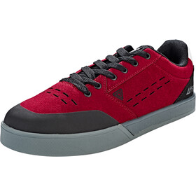 Afton Shoes Keegan Schoenen Vlakke Pedalen Heren, black/maroon